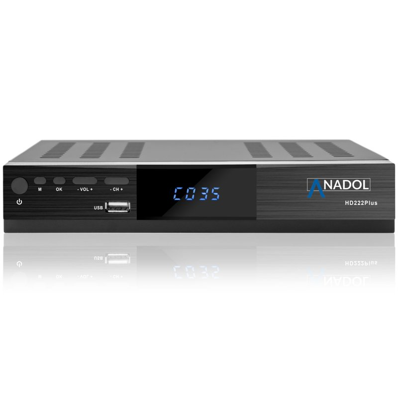 anadol adx 222 plus hd 1080p full hd sat receiver hdmi scart epg usb me. Black Bedroom Furniture Sets. Home Design Ideas
