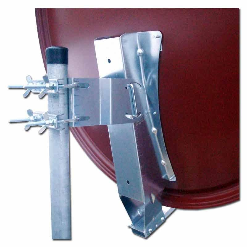 emme esse aluminium sat antenne 100cm ziegelrot breiter arm 69 90. Black Bedroom Furniture Sets. Home Design Ideas
