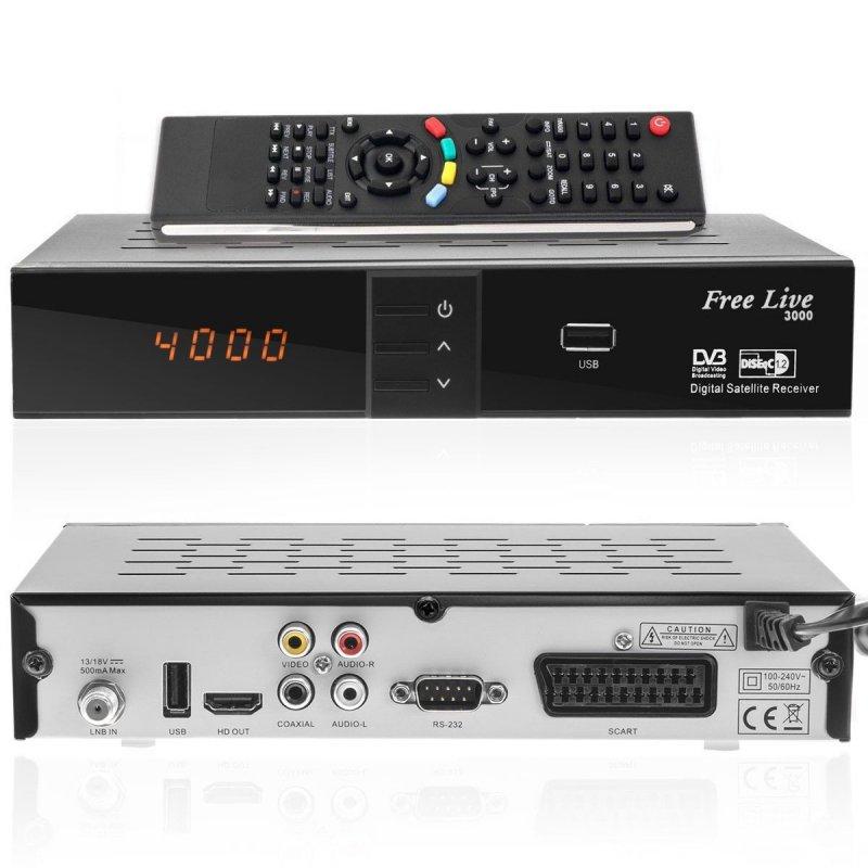 free live hd 3000 hdtv sat receiver 29 90. Black Bedroom Furniture Sets. Home Design Ideas