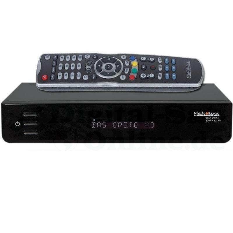 medialink black panther hd hybrid receiver kabel receiver dvb t receiver. Black Bedroom Furniture Sets. Home Design Ideas