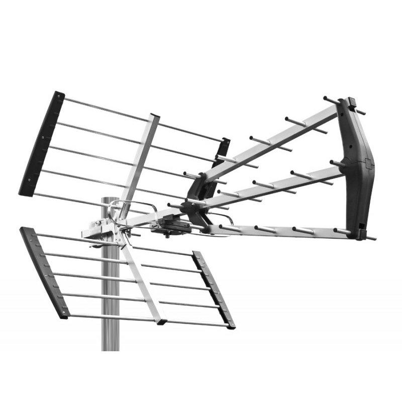 red eagle 900 dvb t antenne aussenantenne 14db 27 90. Black Bedroom Furniture Sets. Home Design Ideas