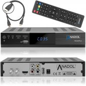 Anadol ADX 222 PLUS HD 1080p FULL HD Sat Receiver (HDMI,...