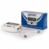 Anadol SF33 WHITE LCD digitaler Satfinder - Satelliten...