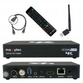 Maxytec MULTIBOX COMBO 4K UHD E2 Linux Receiver mit...