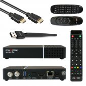 Maxytec MULTIBOX TWIN 4K UHD E2 Linux Receiver mit Dual...