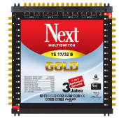 Next YE 17/32S Gold Multischalter