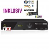 Next YE-2000 HD CIS Plus CA Full HD Sat USB Sat Receiver + Medialink Wifi Stick 150Mbit mit Antenne