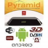 Opticum PYRAMID Android HD Sat Receiver + Multimedia Player