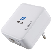 ZTE H511A 200Mbit Powerline Ethernet Adapter Kit 2er Set