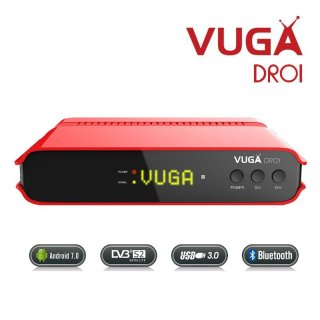 Vuga Droi 4K UHD Android  Mediaplayer HEVC265