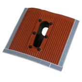 Aluminium Kunststoff Dachziegel / Dachpfanne schwarz...