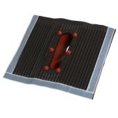 Aluminium Kunststoff Dachziegel / Dachpfanne rot...