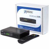 Anadol ADX HD 202c PLUS 1080p Full HD Kabelreceiver schwarz