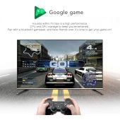 AX Mecool KM9 Pro Deluxe 4K UHD Android-TV 10.0 IPTV Streaming Box, Google zertifiziert, Amazon Prime Video 4K, Youtube 4K, 5G WLAN, Bluetooth Fernbedienung, Sprachsteuerung, Chromecast, 2GB RAM, 16GB Flash