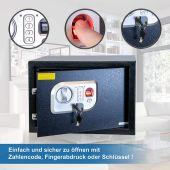 Anadol Tresor Deluxe, Elektronischer-Safe mit...