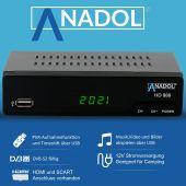 Anadol HD 888 HDTV digitaler Sat Receiver mit...