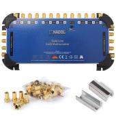 Anadol Gold Line 13/8 Multischalter für 3 Satelliten...