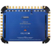 Anadol Gold Line 13/16 Multischalter für 3 Satelliten und 16 Teilnehmer, 29 vergoldete F-Stecker gratis