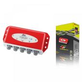 AX / Red Eagle Dynamic Line 4/1 DiSEqC Schalter mit Wetterschutzgehäuse
