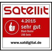AX / Red Eagle Black Buster Premium Octo LNB HD 0.1 dB