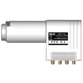 Best HQRF 414 Quattro Lens Straight Feed LNB 0.1dB...
