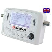 Octagon SF 418 LCD HD Satfinder mit Kompass und Ton Englisch