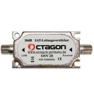 OCTAGON Sat-Leitungsverstärker OSV-28 (Inline Amplifier)