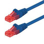 Netzwerkkabel Cat 6, blau, halogenfrei, S/FTP, PIMF, 2m
