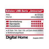 Edision Single LNB SL-1 Universal 0.1dB