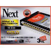 Next YE 6/20S Gold Multischalter mit MDU5 LNB-Anschluss...