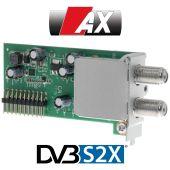 AX 4K-Box Sat (DVB-S2X) Plug & Play Tuner für HD51