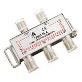 Satverteiler 4-fach, 5-2400 MHz, Unicable tauglich, 100dB...