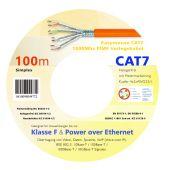 Easymouse CAT7 Gigabit Netzwerk - Verlegekabel S/FTP...